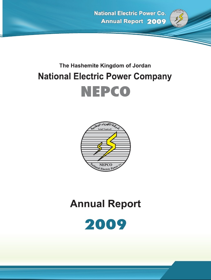 Annual Report for Year : 2009