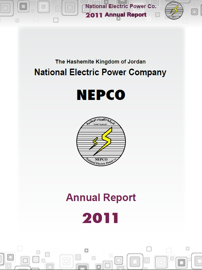 Annual Report for Year : 2011